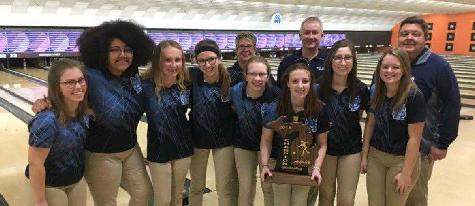 Mona Shores girls bowling team captures Division 2 regional championship