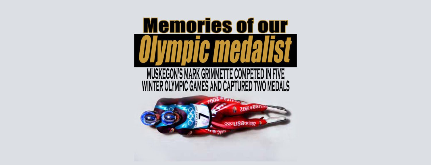 Memories of our Olympic Medalist: Muskegon's Mark Grimmette