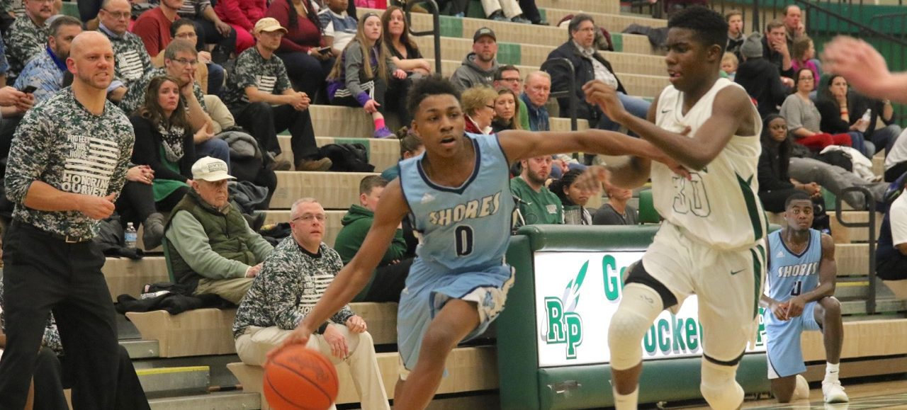 Jarvis Walker's 26 points pace Mona Shores boys past rival Reeths-Puffer 66-55