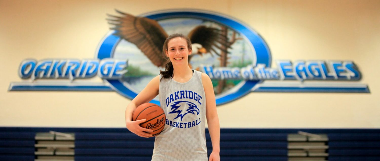 Sophia Wiard watched the great Oakridge players as a kid, and now she's one of them