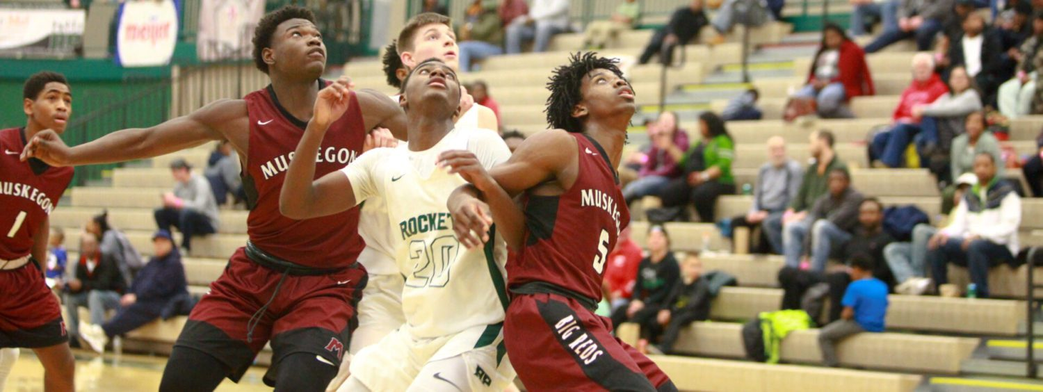 Big Red boys survive a challenge from Reeths-Puffer, remain perfect in conference
