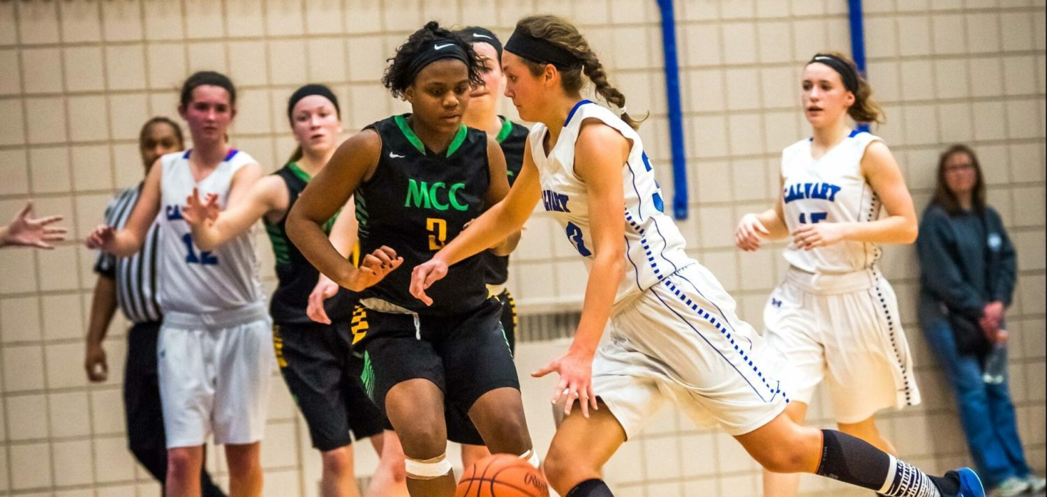 Fruitport Calvary holds off a challenge from MCC, advances to Class D finals