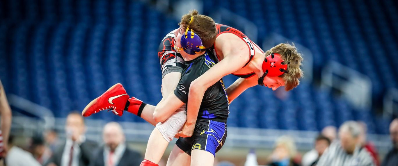 Three area wrestlers advance to state championship matches, but fall just short