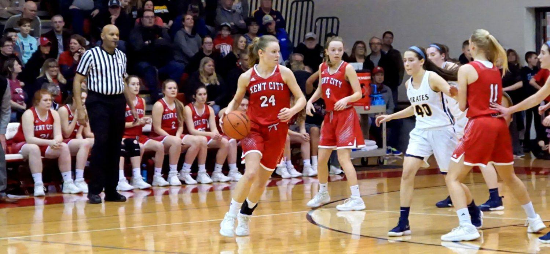 Kent City girls basketball team falls in state quarters to Pewamo-Westphalia