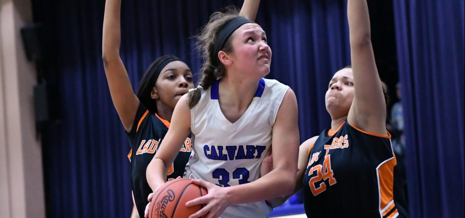Cammenga's layup at the buzzer gives Fruitport Calvary another Class D district title