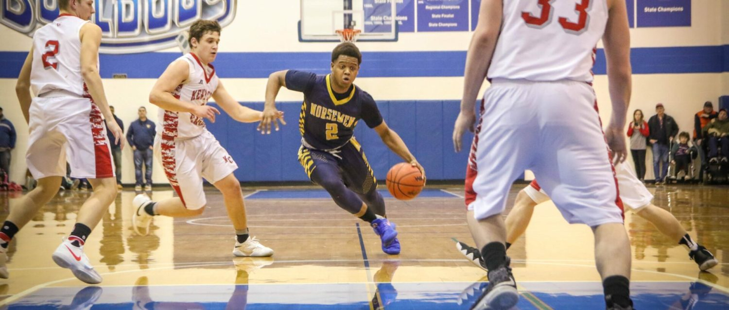 North Muskegon hands Kent City its first loss, wins Class C district championship