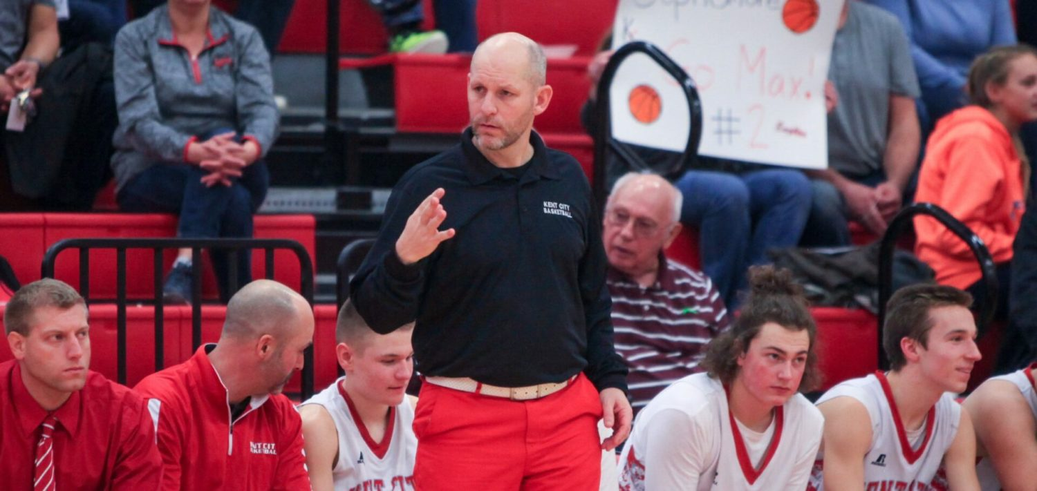Breakthrough season: Kent City coach opens up about struggle with depression