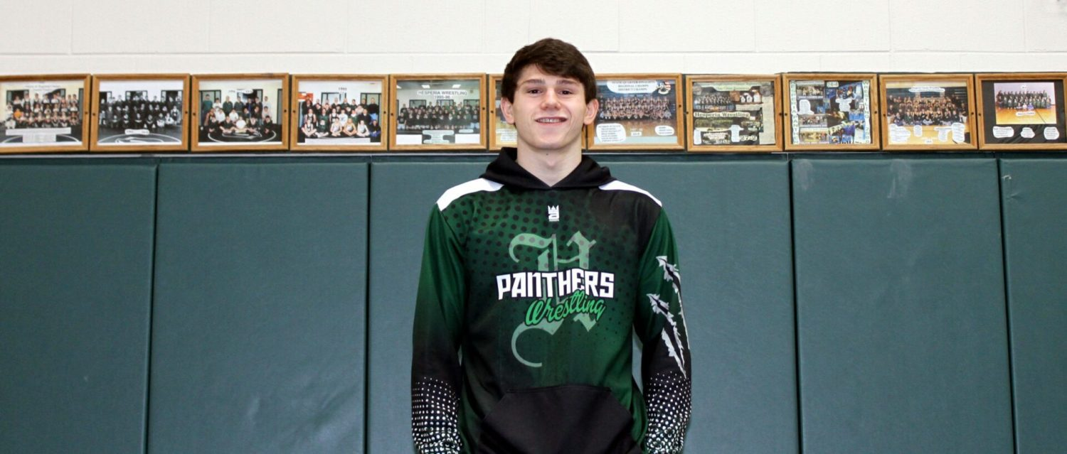 For unbeaten Hesperia wrestler Zach Young, third place in the state is not good enough