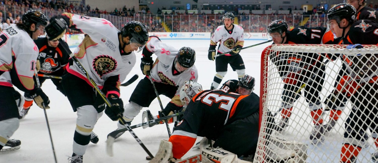 Lumberjacks lose second straight to Omaha, still a point away from clinching playoffs