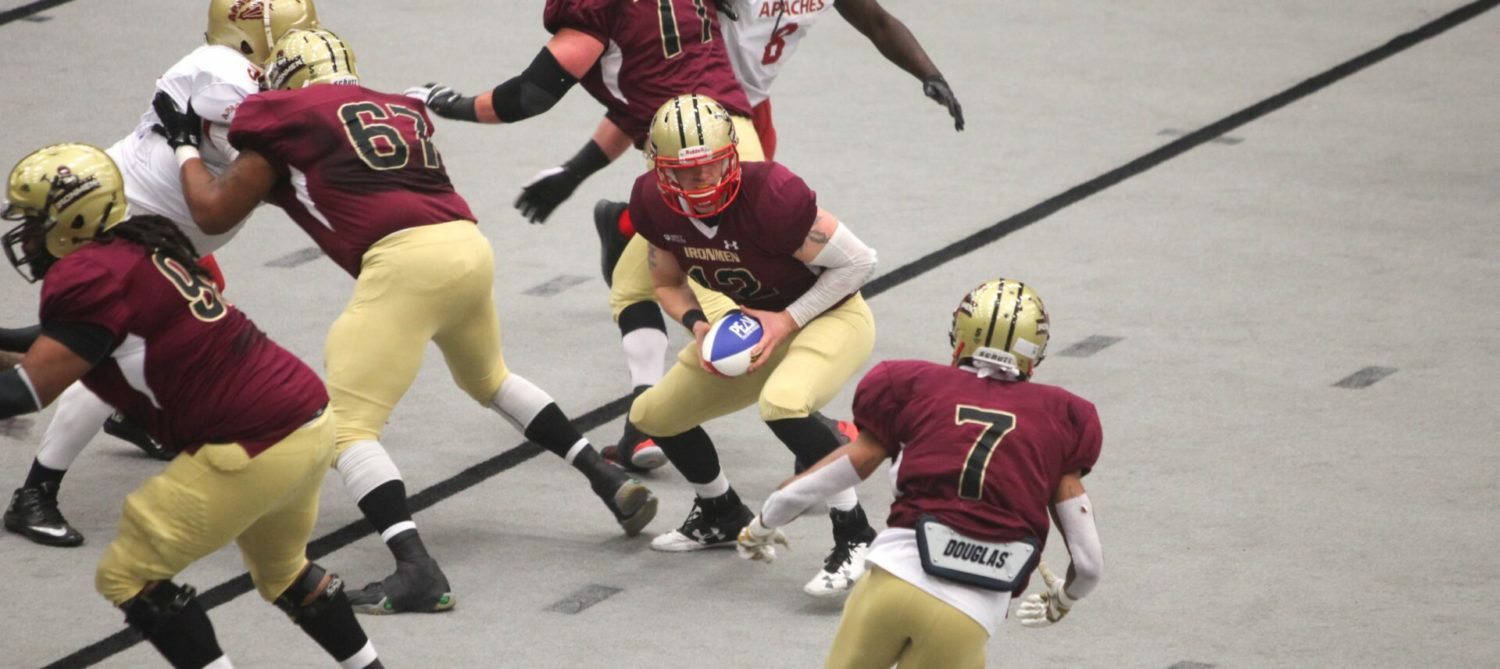 Ironmen romp to a 73-8 victory in league semifinals, prepare to host league title game