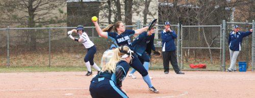 Dew, Sailors put on a home run show in softball sweep of Fruitport