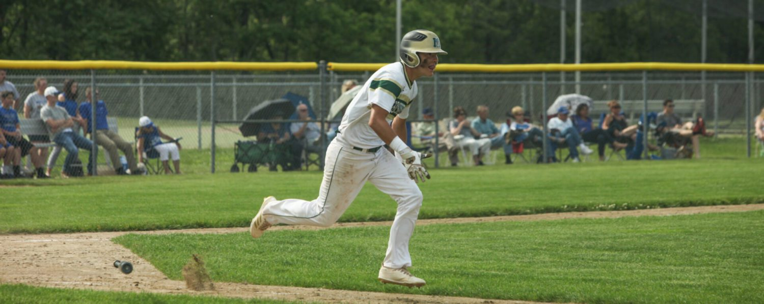 Young Muskegon Catholic baseball team eliminated in state quarterfinals