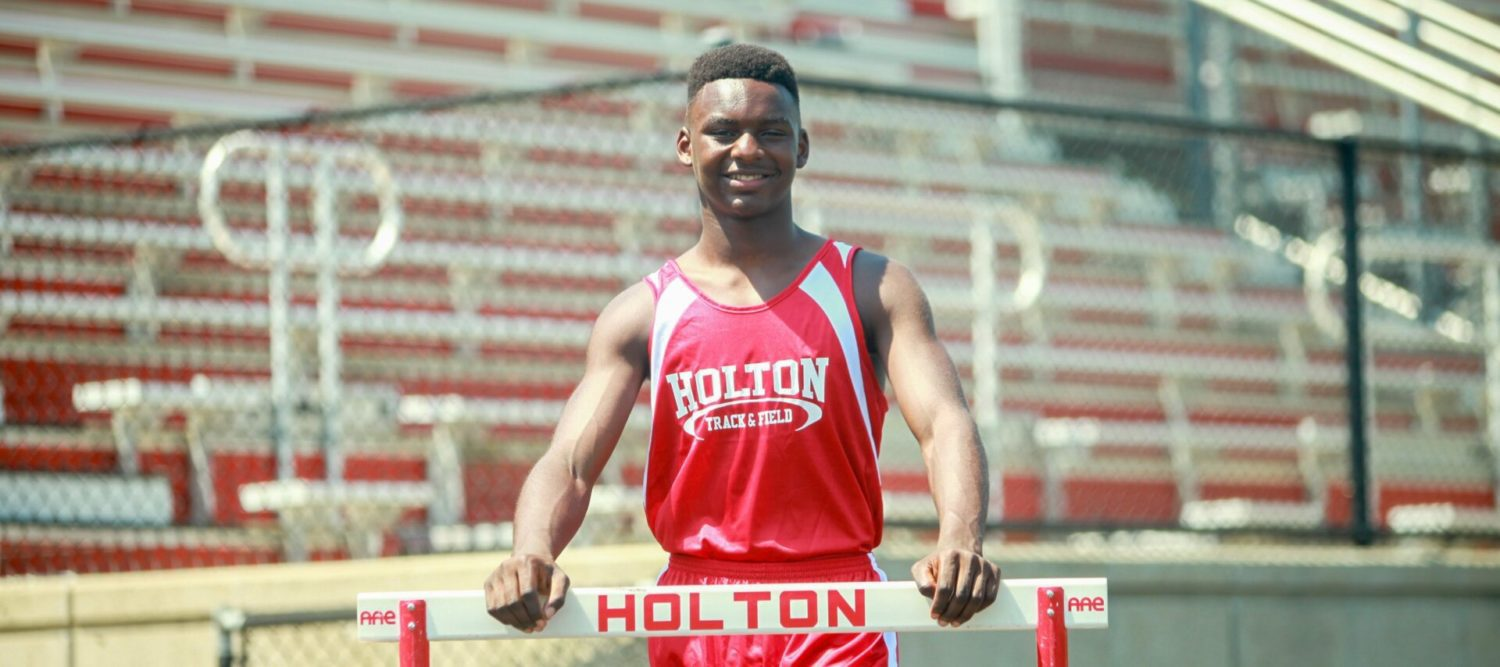 A successful transplant: Track star Aaron Herron fitting right in at Holton