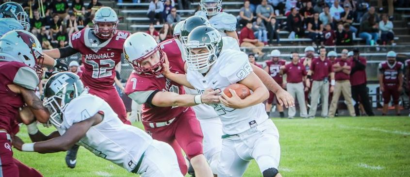 Reeths-Puffer's Evan Moskwa throws for 6 TDs in big win over Orchard View