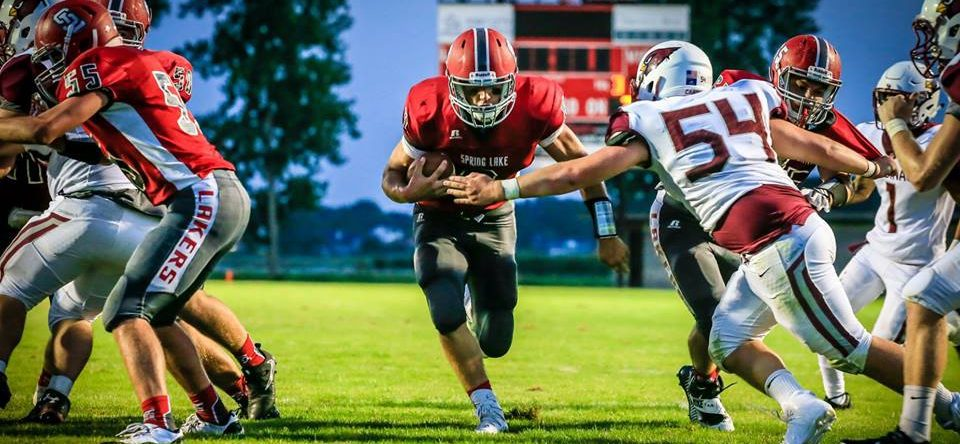Spring Lake roars back for a 42-19 opening-night win over Orchard View