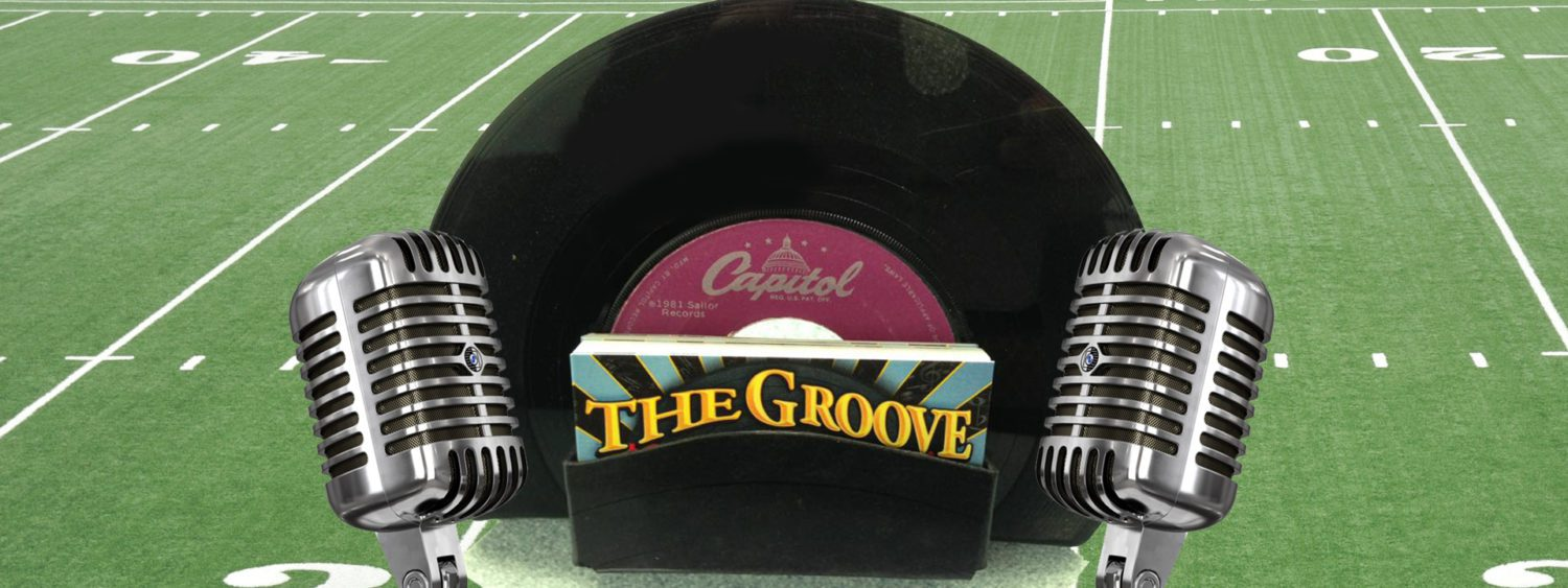 List of games still to be played in Week 1 football and a playlist from the Groove Record Shop in Montague