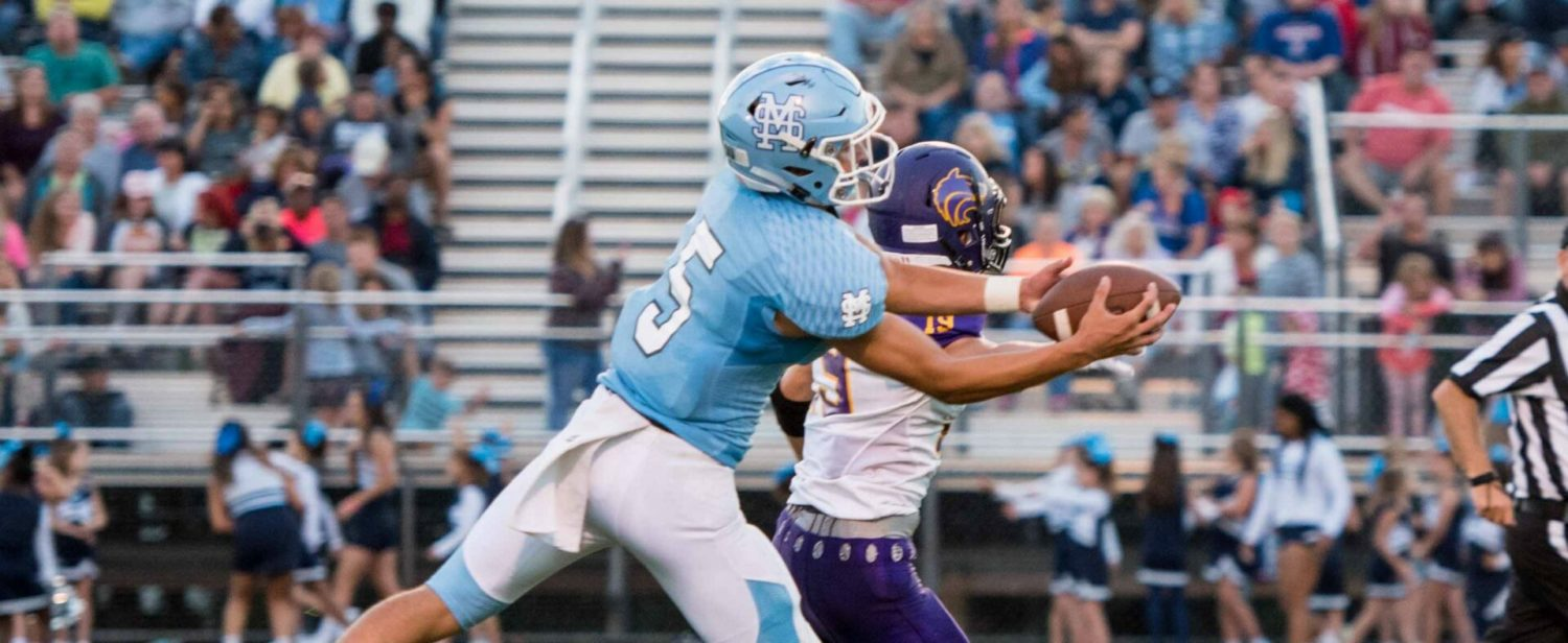 Mona Shores explodes for a 35-0 victory over Bay City Central in home opener