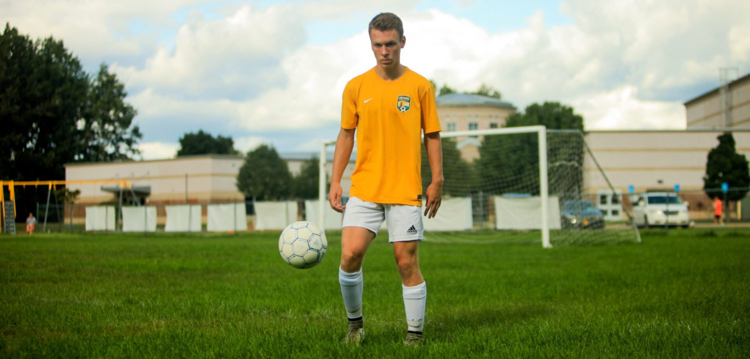 Fruitport Calvary's Zach Zehr off to solid 12-goal start to season with hopes to top a family record