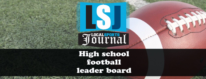 LSJ high school football Week 5 leader board