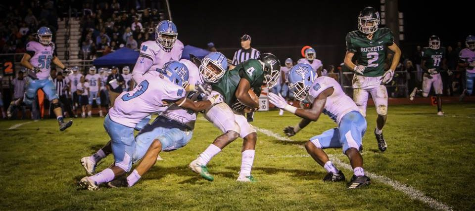 Mona Shores fights off stubborn Rockets, escapes with a 49-35 victory