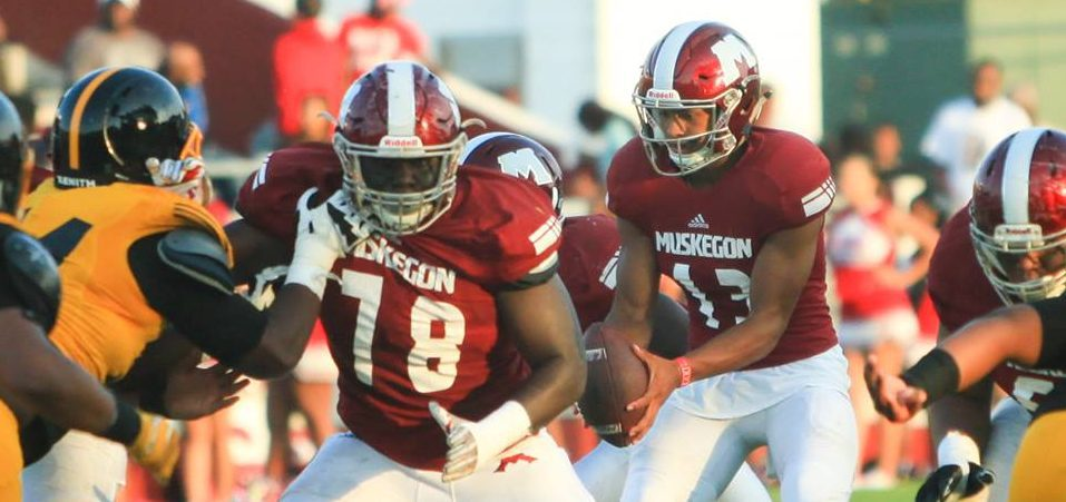 Big Reds' powerful yet agile offensive line paving the way for continued success