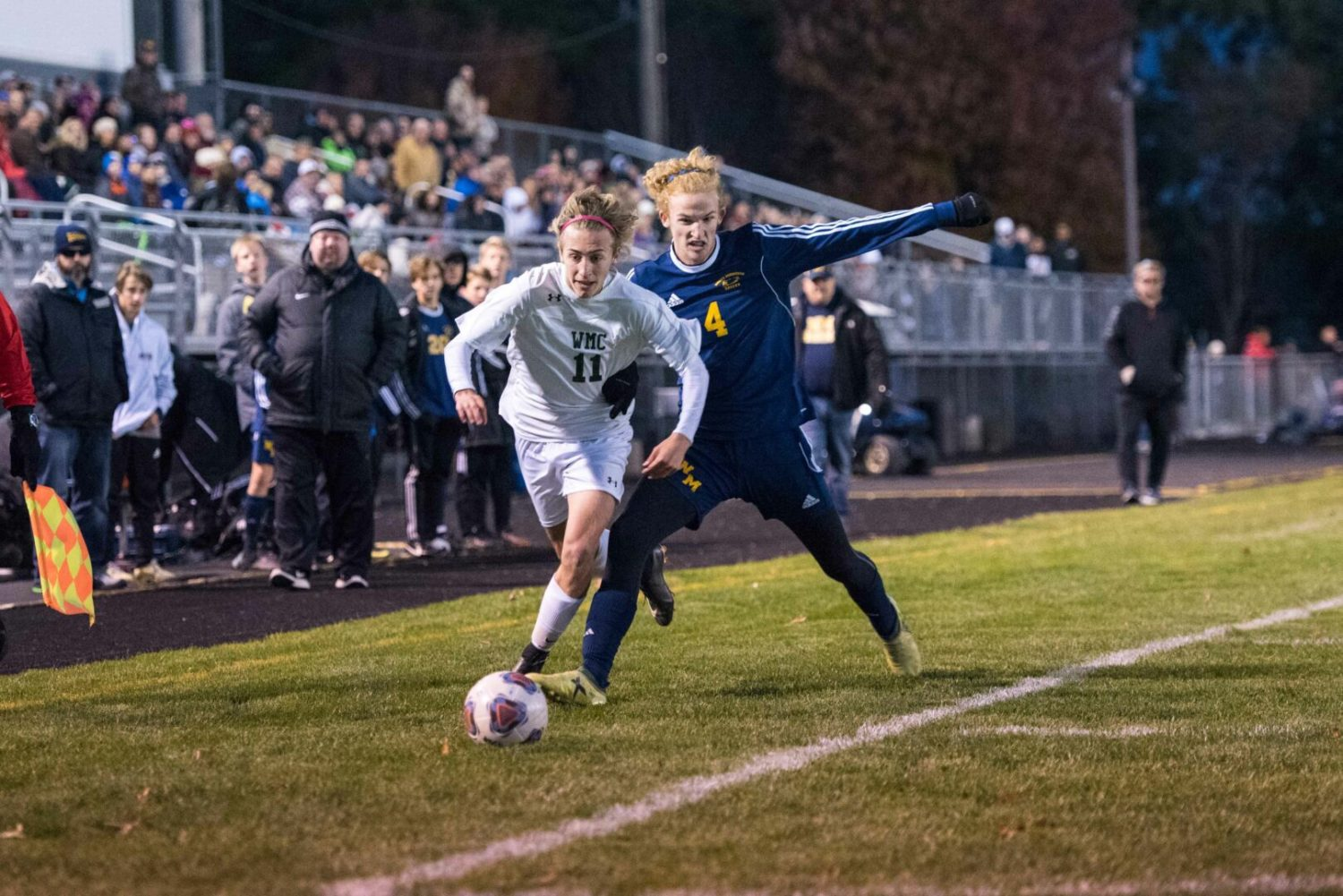 WMC soccer team looks sharp in 3-0 district semifinal win over North Muskegon