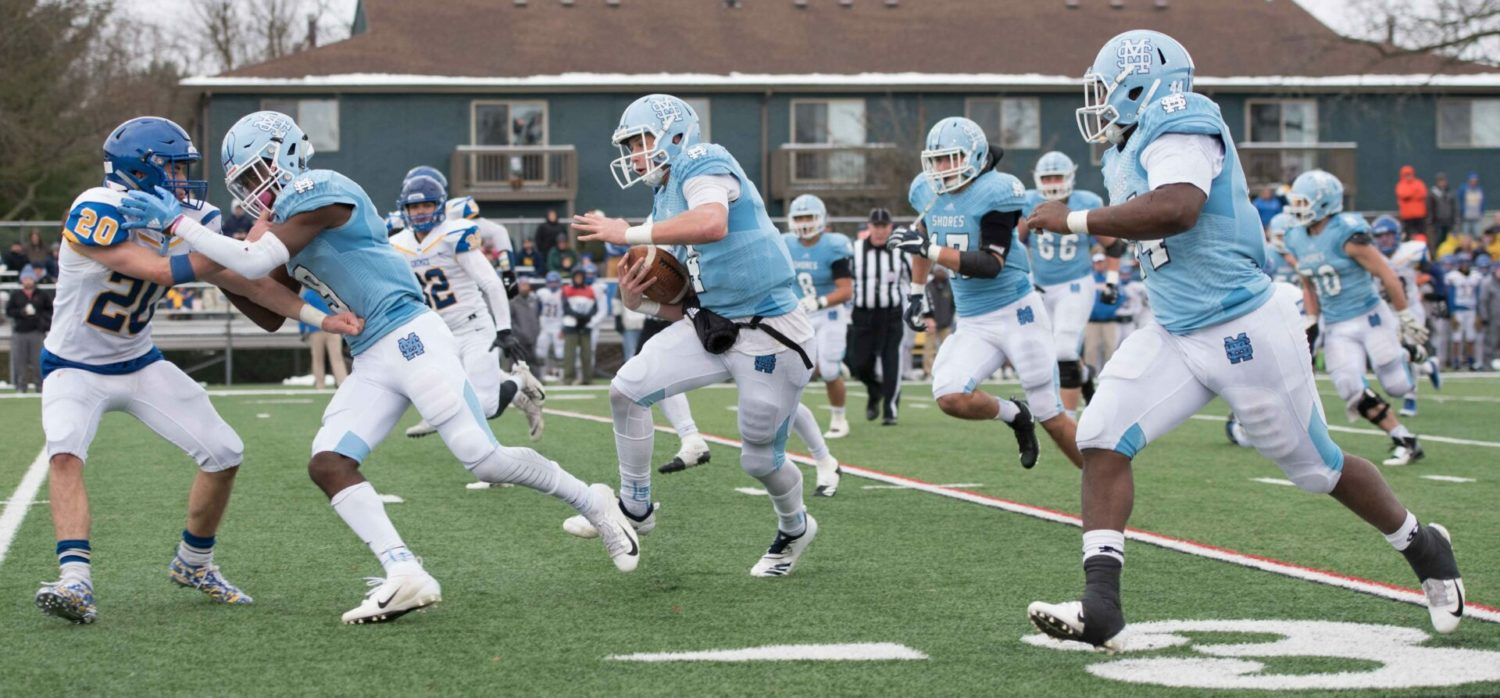 Mona Shores pushes past Midland 49-28, earns another shot at state football title