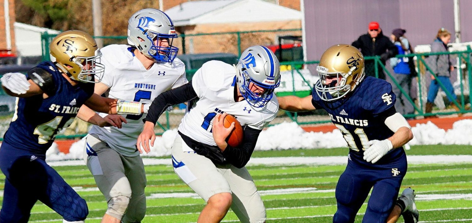 Montague Bears Down Late Knocks Off Tc St Francis Heads To State