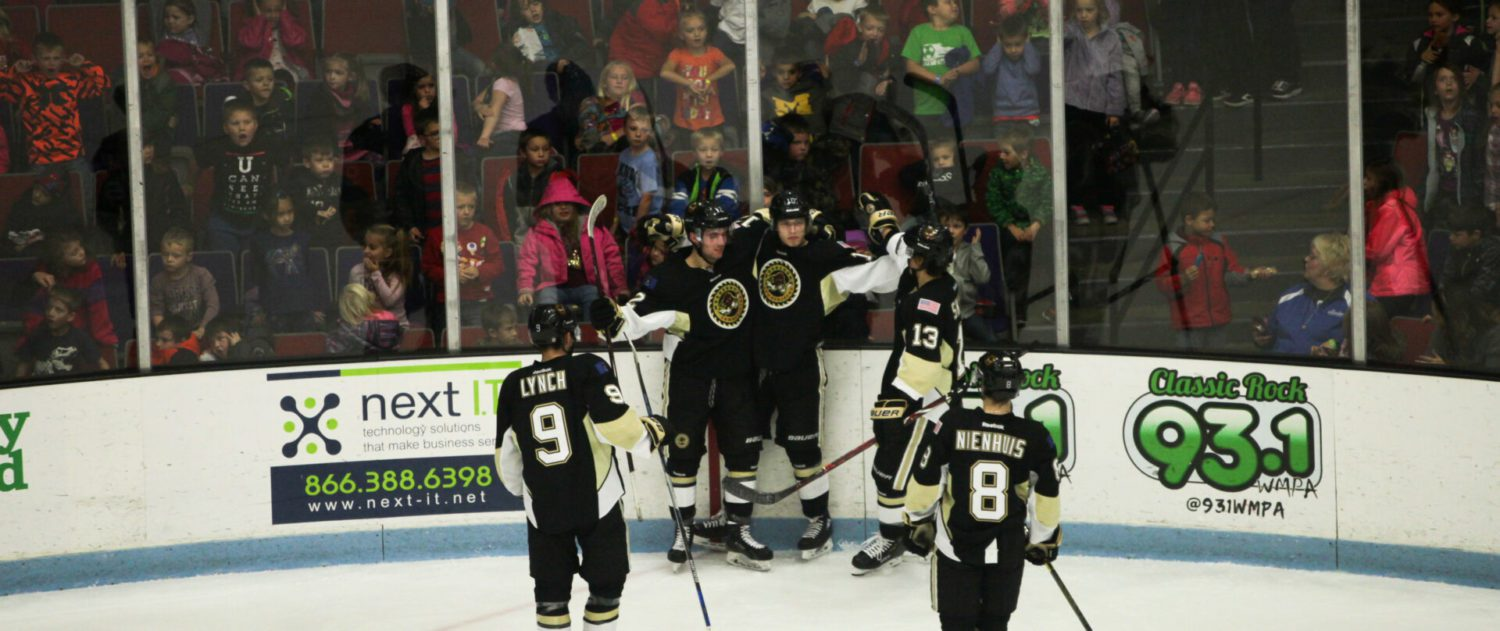 Lumberjacks bounce back against Team USA U18, entertain area students with a win on Education Day