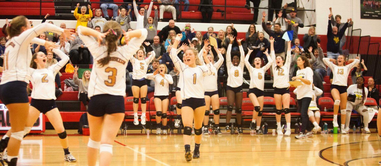 Resurgent North Muskegon volleyball team wins again, rolls into regional finals