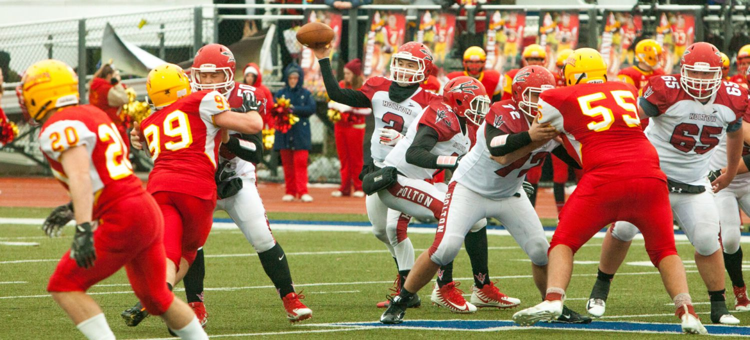 Holton's magic playoff run ends with a 38-0 loss to Reading in semifinals