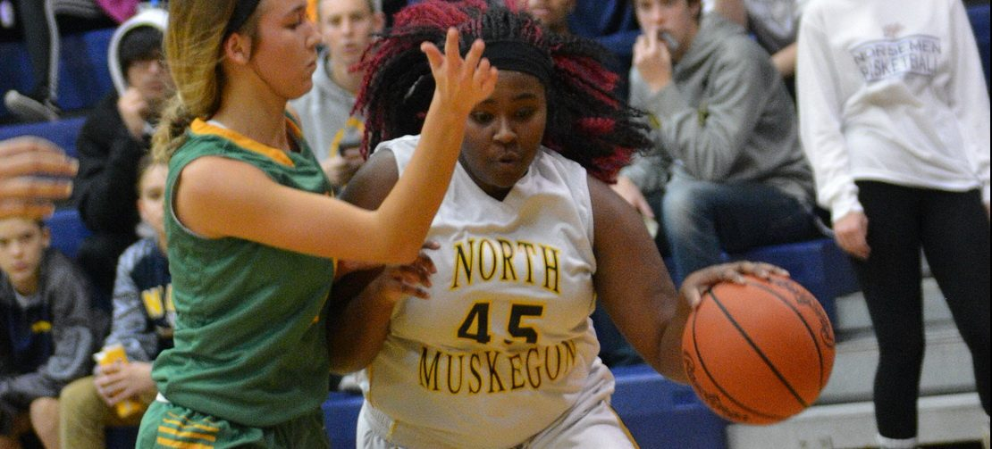 North Muskegon girls basketball team opens season with a 47-27 win over MCC