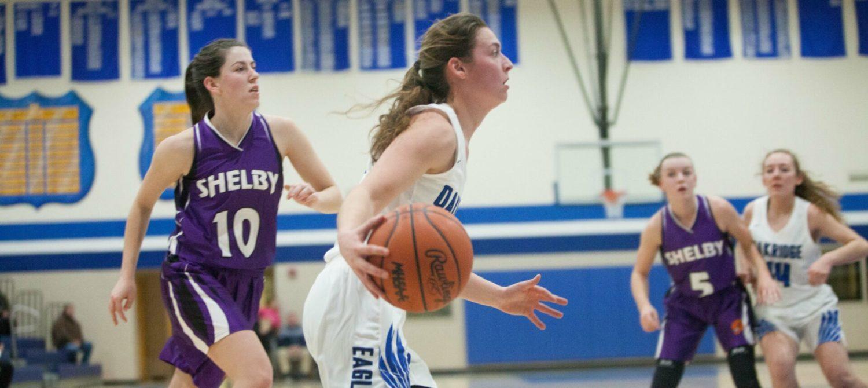 Oakridge girls beat Shelby, extend league winning streak to 80 games