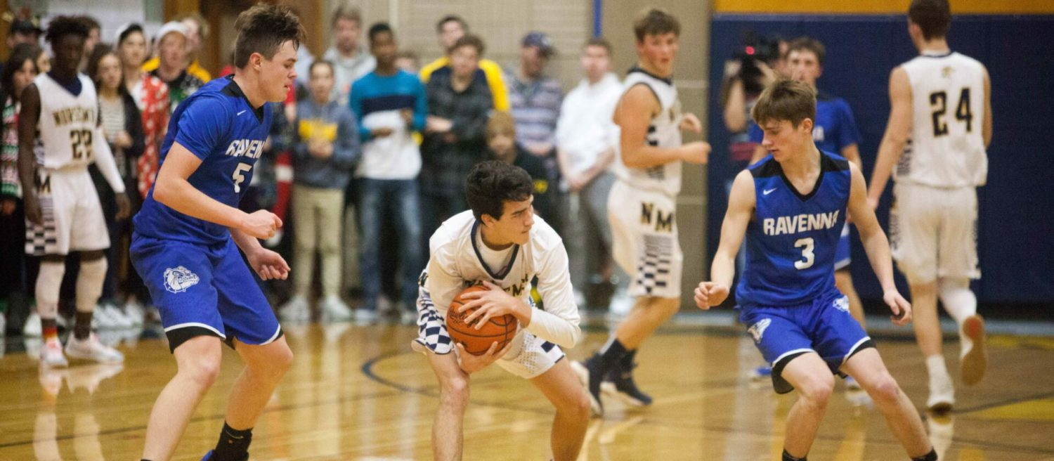 Norse use clamp-down defense to get past Ravenna in battle of unbeatens