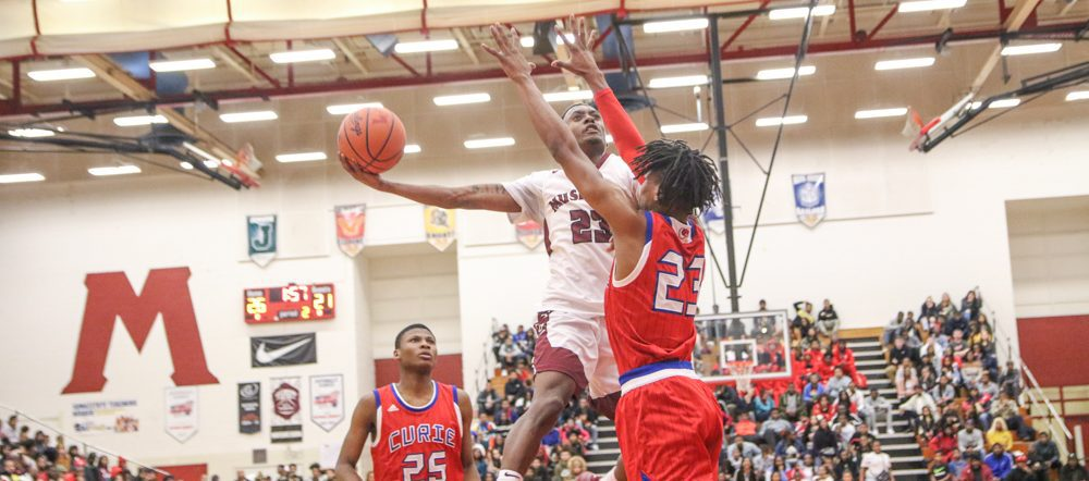 Big Reds give nationally-ranked Chicago Curie a fight, but fall just short in the end
