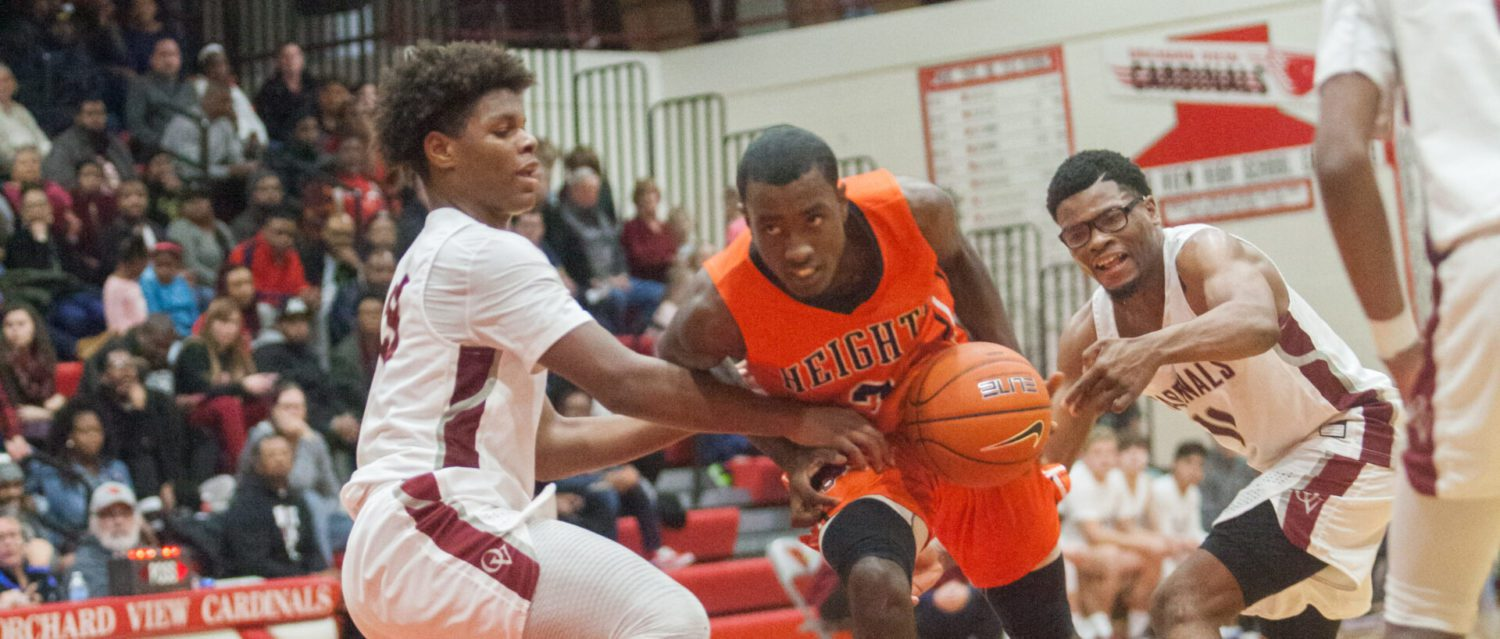 Muskegon Heights boys hand Orchard View its first home loss