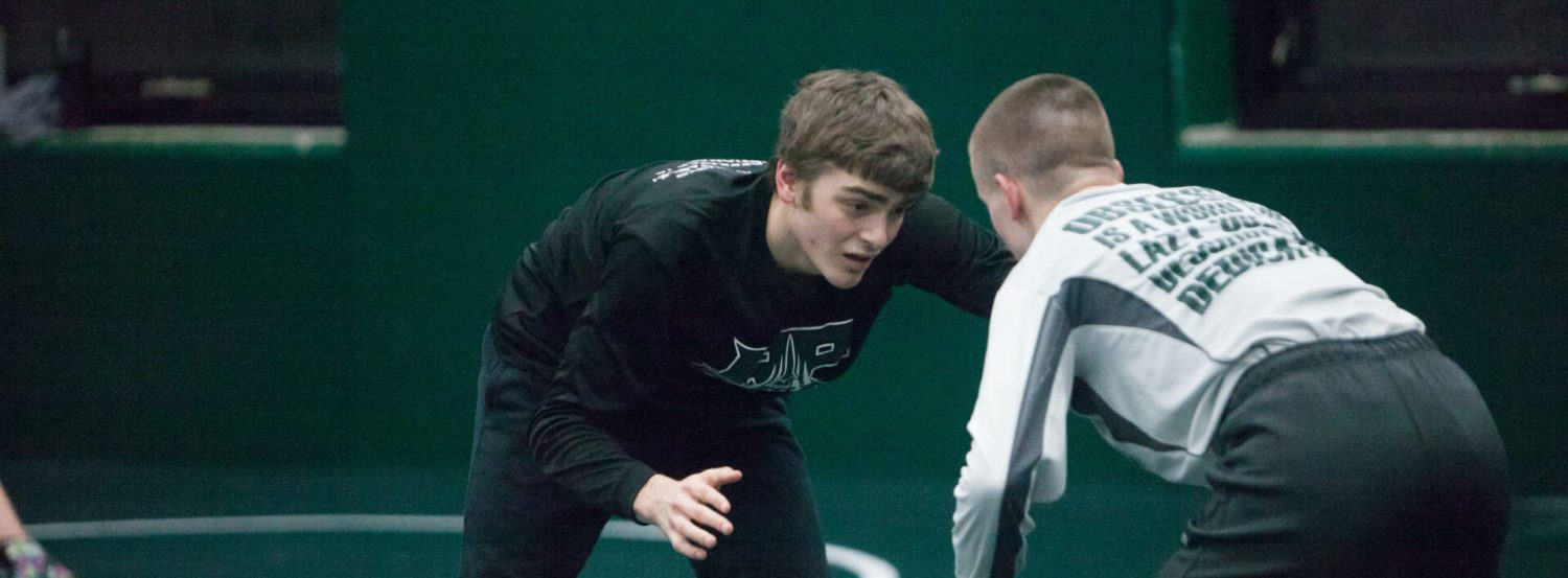 Rising Reeths-Puffer wrestling team hopes to overtake Whitehall at city tournament