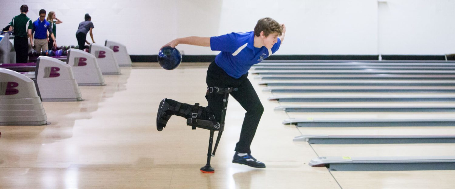 Ravenna bowling standout Derek Place back on the lanes with a special medical brace
