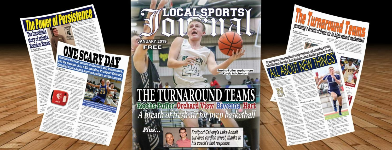 LSJ January magazine features hot hoops teams, update on Luke Anhalt, incredible Brandon Bucek and Norse grad Erick Bleakley