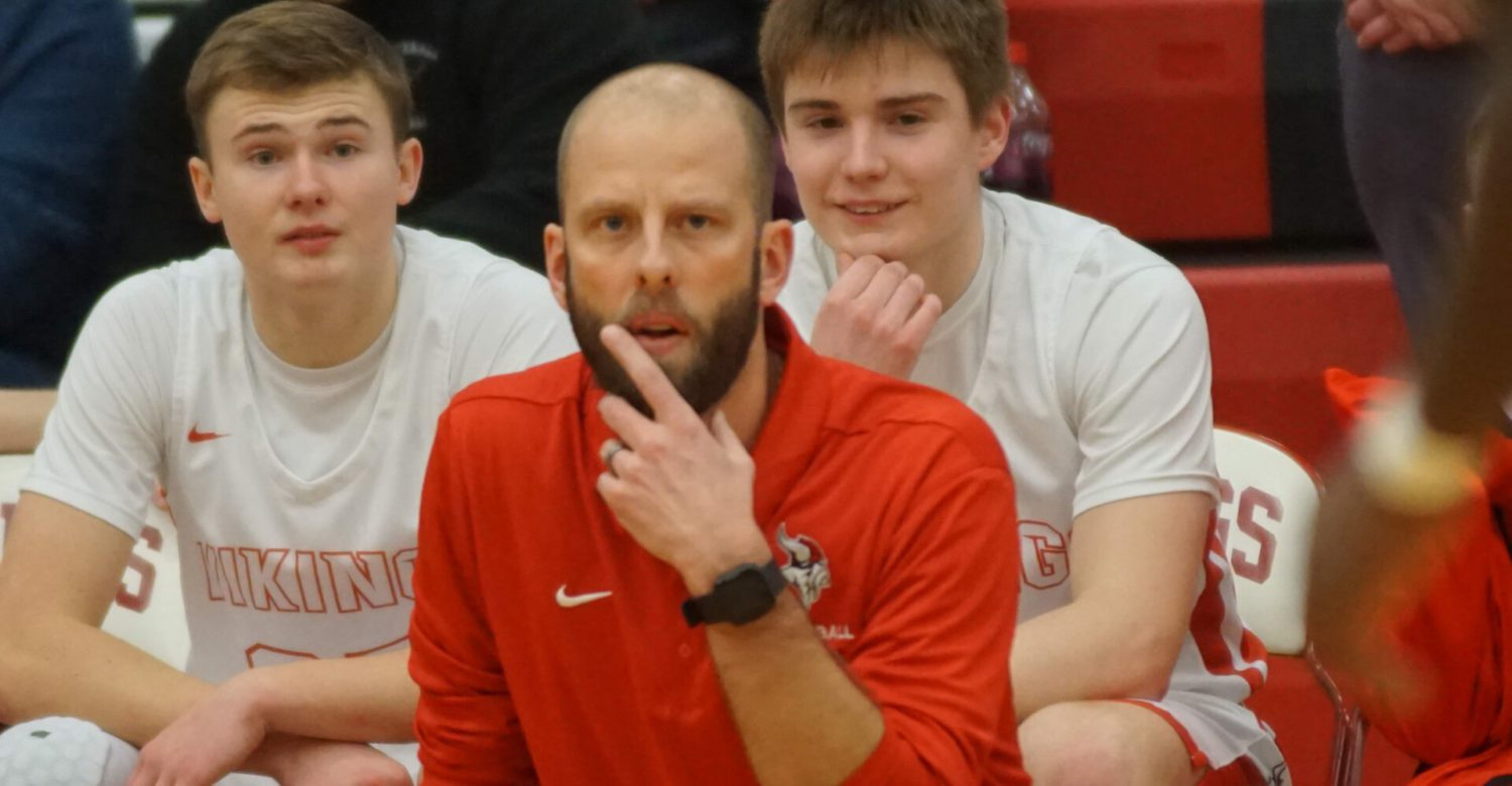 Whitehall's Nate Aardema: The head coach who is suddenly struggling to communicate