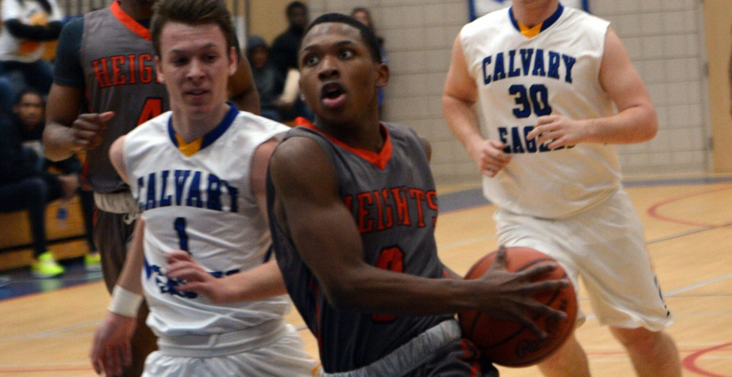 Muskegon Heights cruises past district host Fruitport Calvary Christian in semifinals