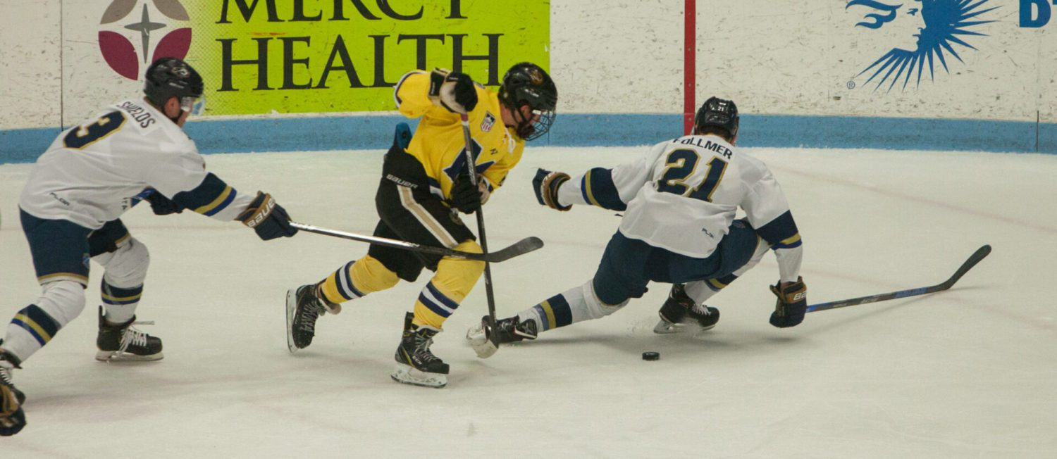 Shorthanded Lumberjacks finish weekend 1-2 after a loss on Sunday to Sioux Falls