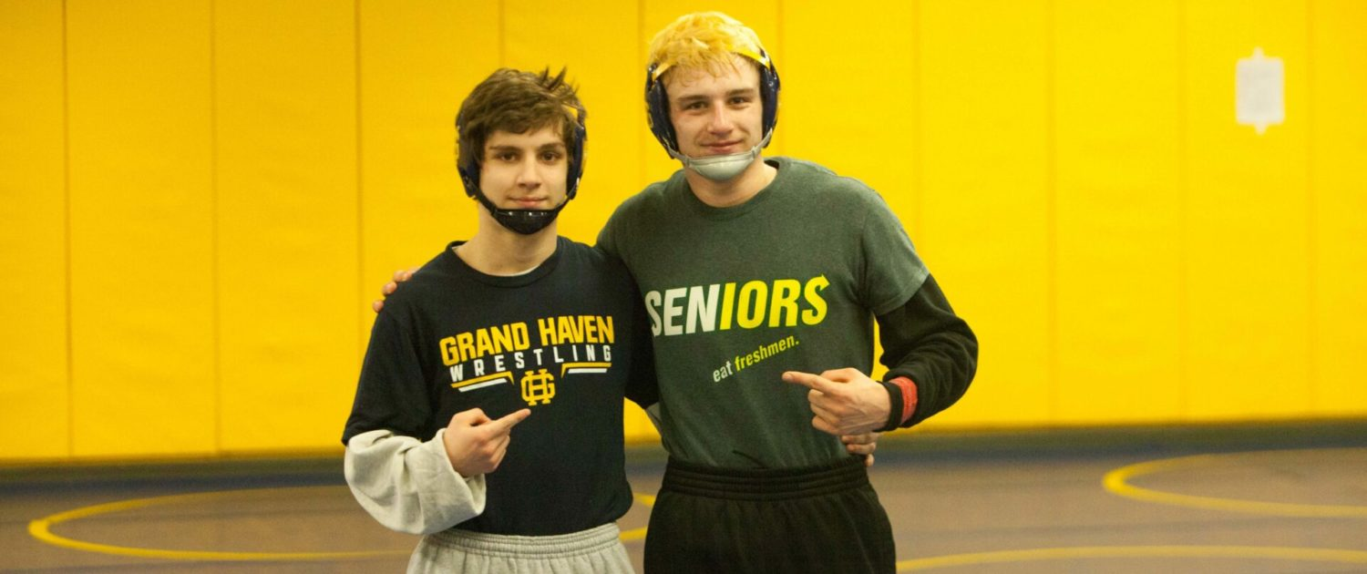 Grand Haven wrestlers Miller, Rhone extend great seasons with individual district titles