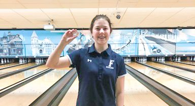 Jessica Plichta ready for state finals, after stunning the field in bowling regionals