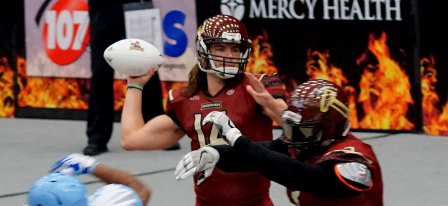 Ironmen open their league season with another convincing victory, 68-6 over Indianapolis