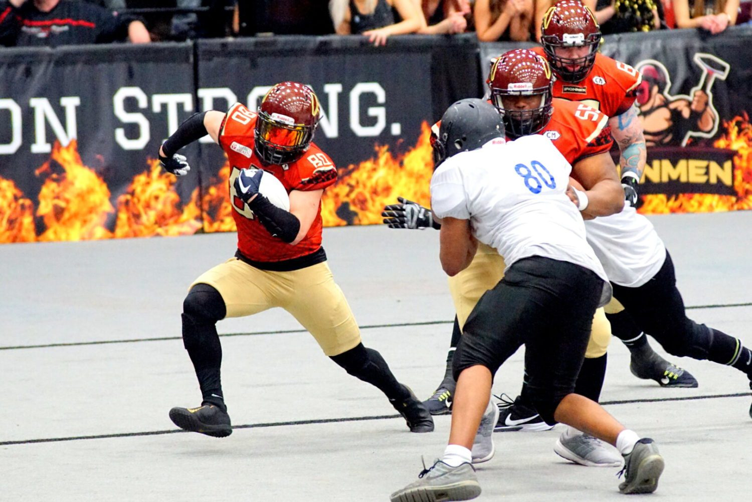 West Michigan Ironmen open the season with a 95-0 pummeling of Illinois Renegades