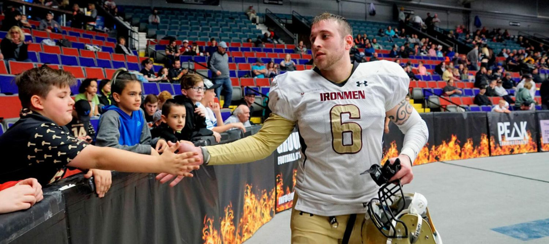 Ironmen linebacker Derek VandenBosch: A local guy who loves to play for Muskegon fans