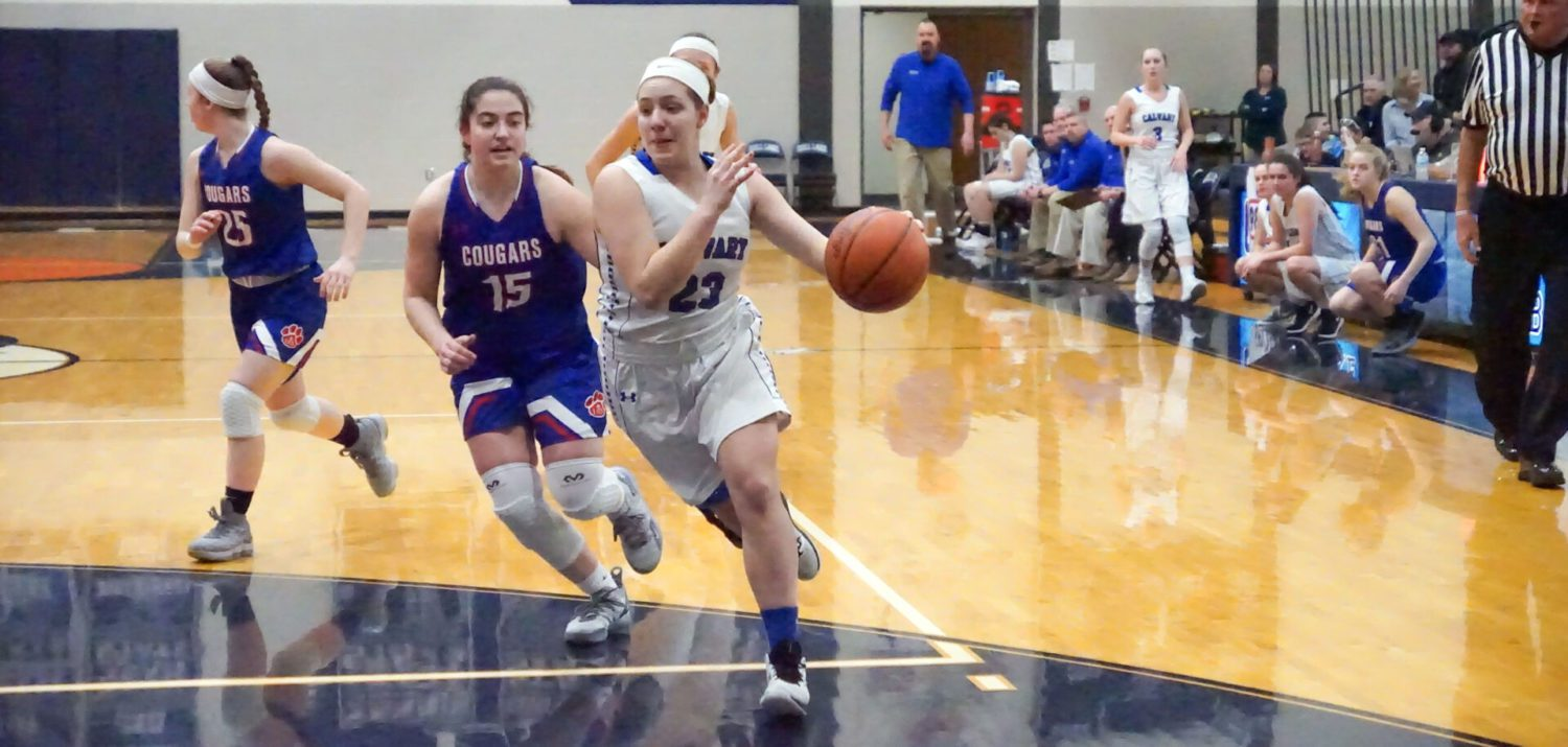Fruitport Calvary's tournament run ends with a loss to Lenawee Christian in D4 quarterfinals