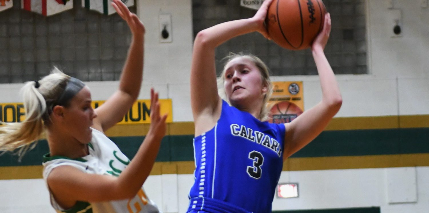 Fruitport Calvary girls flex muscles in D4 title game, ready for another run at regionals