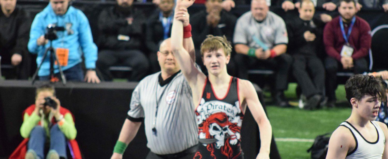 "Hart's Robbie Altland wins individual state wrestling title in ""ultimate tiebreaker"""